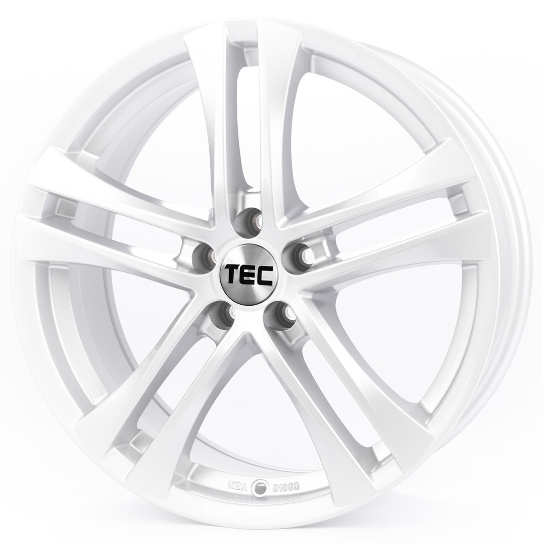 Tec Speedwheels AS4 Brillant-Silber